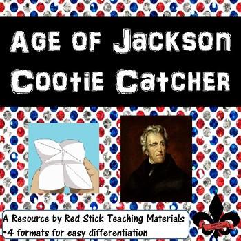 Age of Jackson Cootie Catcher