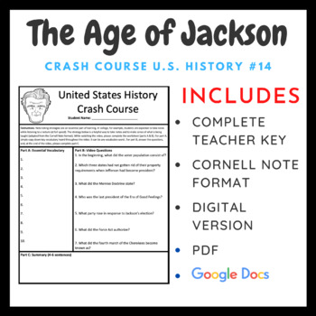 Crash Course: Age of Andrew Jackson #14