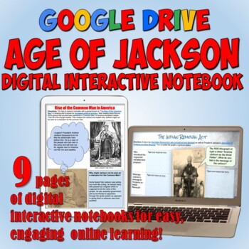 Age of Jackson Google Drive Interactive Notebook