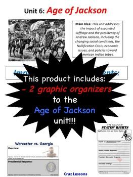 Age of Jackson, Graphic Organizers