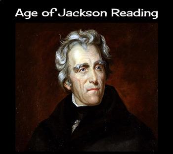 Age of Jackson Reading
