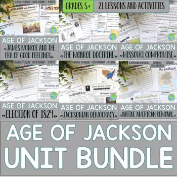 Andrew Jackson UNIT BUNDLE with BONUS card sets