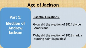 trail of tears essay questions