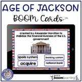 Age of Jackson Vocabulary Digital Boom Cards™ | Distance Learning