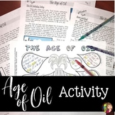 Age of Oil DOODLE NOTES Activity for Texas History 7th Grade