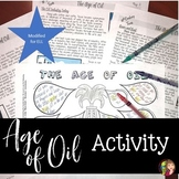 Age of Oil DOODLE NOTES ELL Activity for Texas History 7th