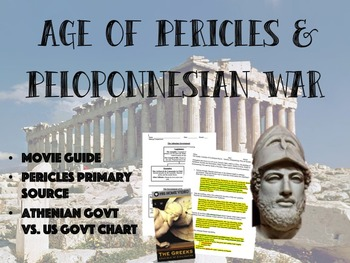 Age of Pericles & Peloponnesian War Bundle