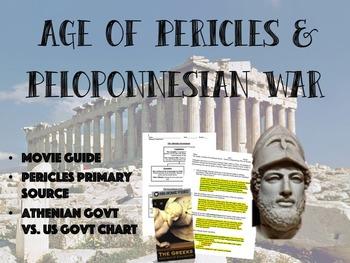 Age of Pericles & Peloponnesian War Bundle