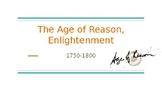 Age of Reason/Enlightenment/Ben Franklin Powerpoint