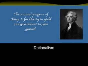 Age of Reason/Rationalism PP 46 Slides Am Lit or History