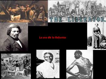 Age of Reform ( Antebellum America) ESL