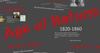 Age of Reform Prezi