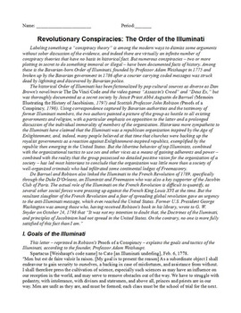 Age of Revolution Primary Source World History Readings (1776-1848)