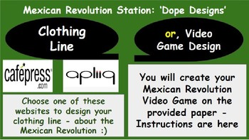 Age of Revolutions Project Stations