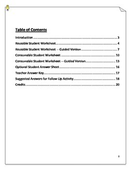 Age of Revolutions Review Worksheets - Glorious, French, American Revolutions