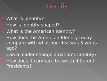 Age of imperialism: Countries Identity lecture on US, British vs. India Identity