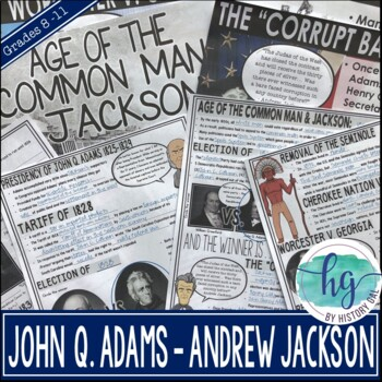 Age of the Common Man and Jackson PowerPoint and Guided Notes