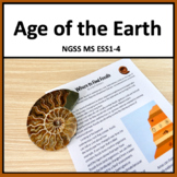 Age of the Earth and Geologic Time Scale NGSS MS ESS1-4