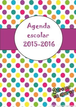 Agenda 2015-2016 (Spanish Teacher Planner)