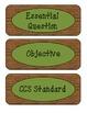 Agenda Board Labels