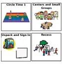 Agenda Pieces for Visual Schedule