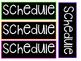 Agenda/Schedule Cards