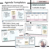 Agenda Slide Templates