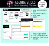 Agenda Slides