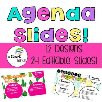Agenda Slides! / Good Morning Slides!