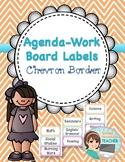 Agenda Subject - Work Labels for Board - Chevron