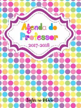 Agenda do Professor de Inglês de 1º Ciclo (Grupo 120) - 2017/2018