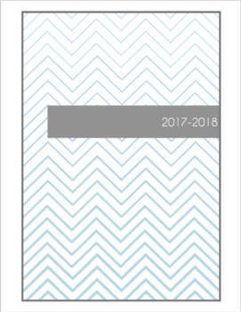 Agenda du professeur - teacher planner FRENCH 2017-2018