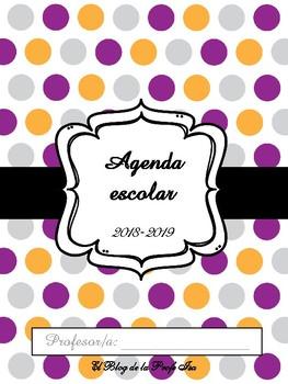 Agenda escolar 2018/2019 en color