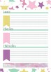 Agenda perpetua imprimible - Planifica tu año