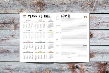 Agenda solidaria para profes en apuros (Spanish Teacher planner) 2017-18