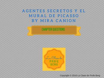 Agentes secretos y el mural de Picasso- Capítulo 9 &10