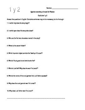 Agentes secretos y el mural de Picasso Reading Questions a