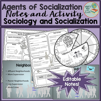 Agents of Socialization Notes and Activity