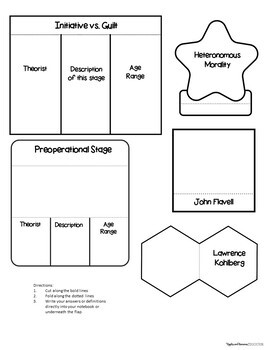 Ages 4-6 - Interactive Note-taking Activities