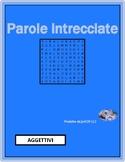 Aggettivi (Italian Adjectives) Wordsearch