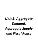 Aggregate Demand, Aggregate Supply, and Fiscal Policy