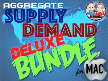 Aggregate Supply and Demand Deluxe Bundle - Keynote Version (MAC USERS ONLY)