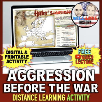 Aggression Before World War II: Dictators Play Risk Activity