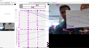 Agil Grader, a Bubble Sheet Grader that uses your Webcam / Document Camera