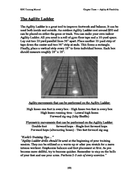 Agility Ladder introduction