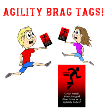 Agility: Physical Education and Sport Brag Tags!