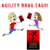 PE Agility: Physical Education and Sport Brag Tags!