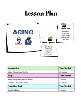 Aging & Growing Older Lesson
