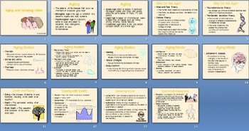 Aging and Growing Older SmartBoard Notebook Presentation Lesson Plan