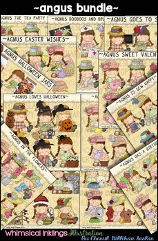 Agnus Bundle Clipart HUGE Collection NO LICENSE REQUIRED
